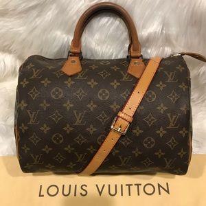 Authentic Louis Vuitton Speedy Tote #9.8M